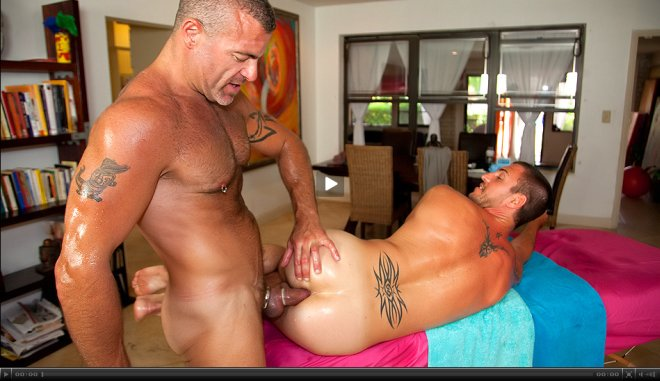 my masseuse male by gay Fucked
